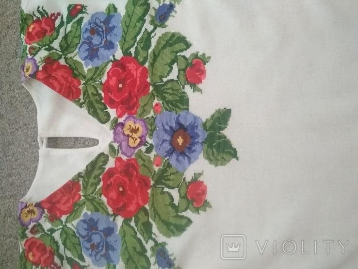 Вишита сорочка борщівська вишиванка, фото №9