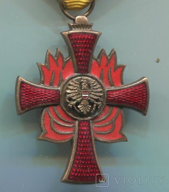 Австрия. Крест Пожарных Заслуг, фото №3