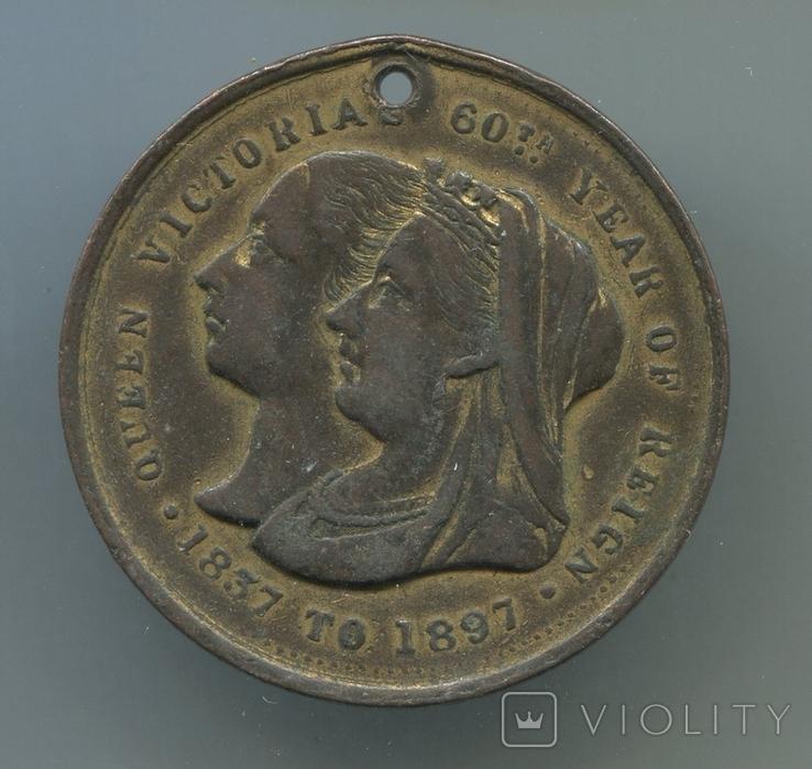 Британия. 1887. Юбилей Королевы Виктории., фото №2