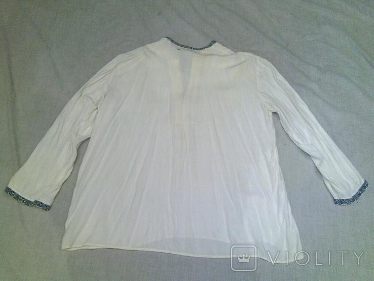 Вышитая мужская рубашка 40-50гг., фото №3