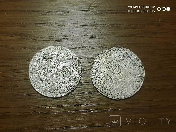 Монети Сигизмунда 3 Ваза 406 штук., фото №4