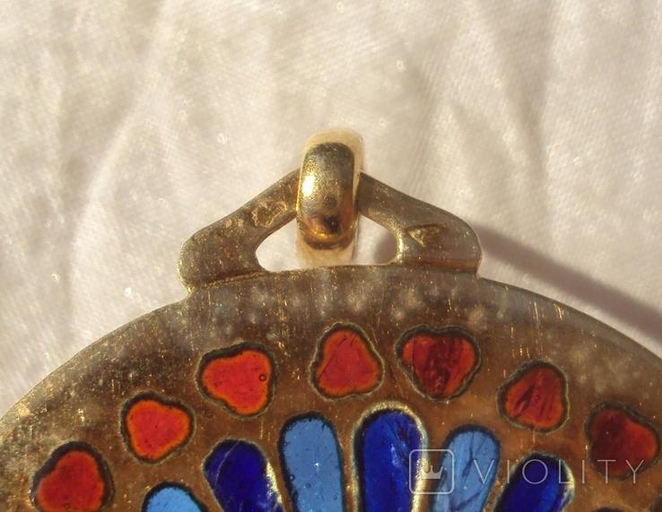 Кулон Франция витражная эмаль., фото №8
