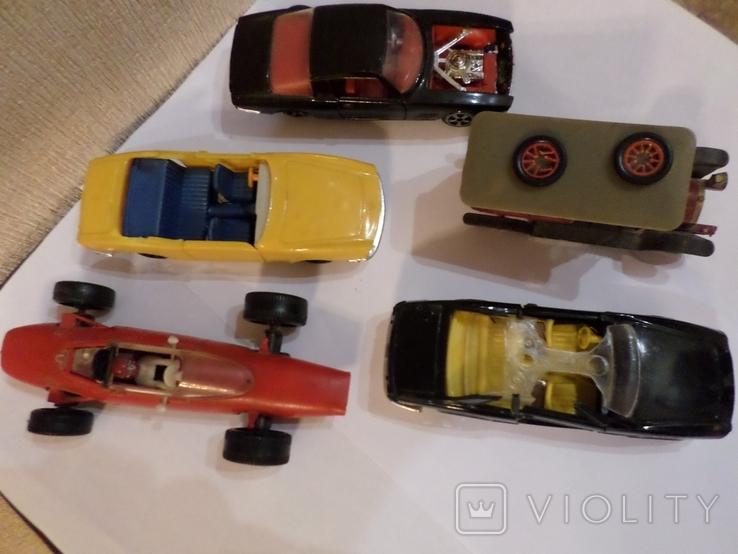 Машинки модельки пять штук Сделано в СССР 1/43, фото №2