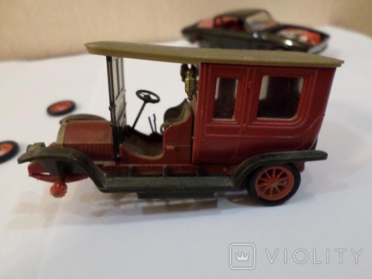 Машинки модельки пять штук Сделано в СССР 1/43, фото №13