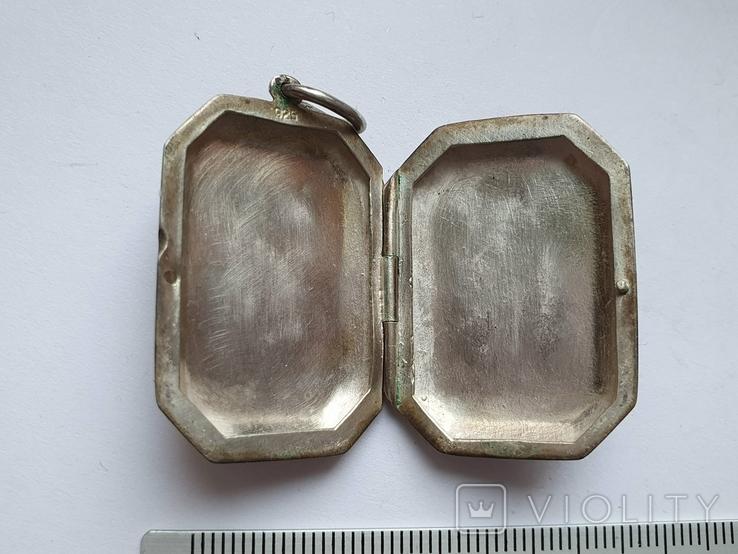 Кулон для фото. Серебро 925 проба., фото №5