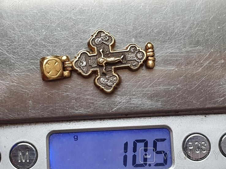 Крестик нательный. Серебро 925., фото №7