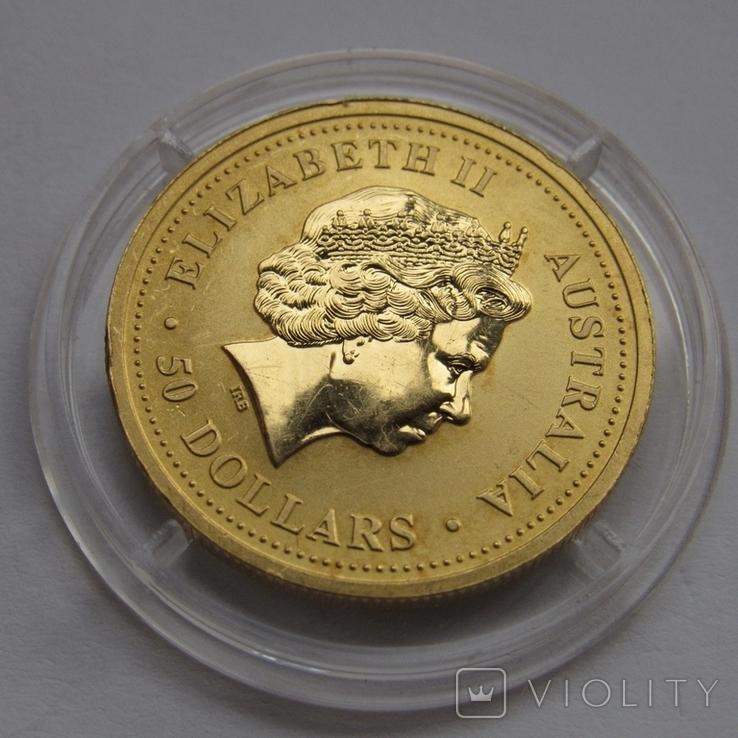50 долларов 2004 г. Австралия (1/2 oz 999,9), фото №5