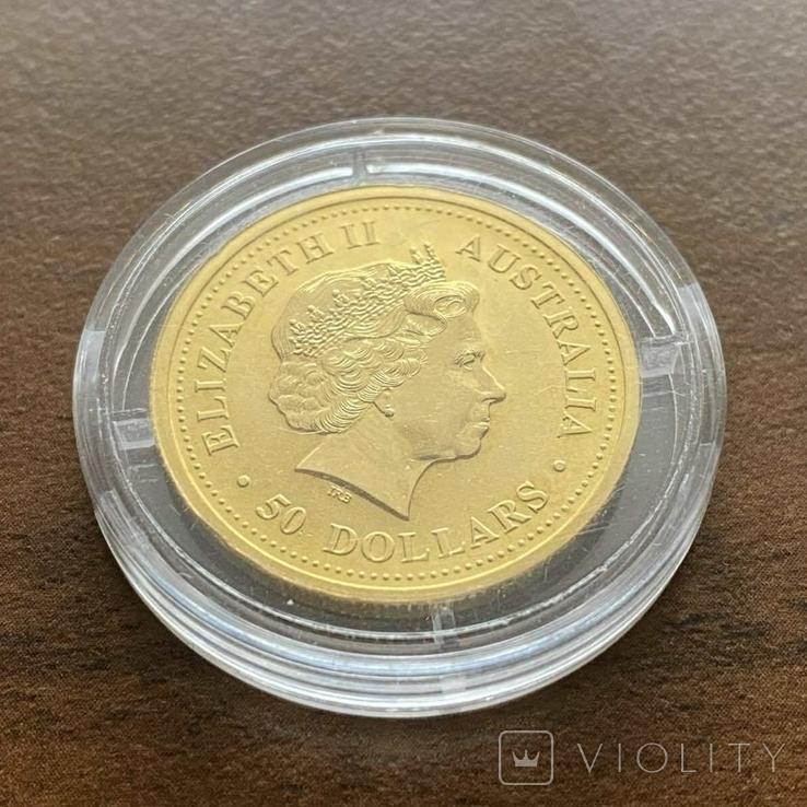 50 долларов 2004 г. Австралия (1/2 oz 999,9), фото №7