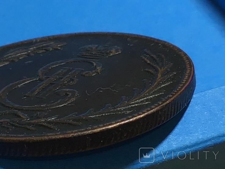 5 копеек 1777 г. Сибирская монета. Копия, фото №4