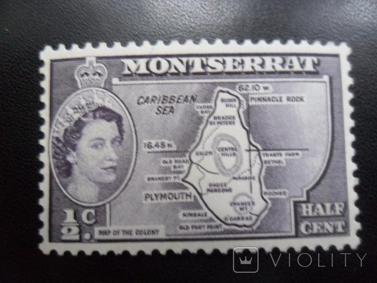 Британские колонии. Монтсеррат.  МLН, фото №2