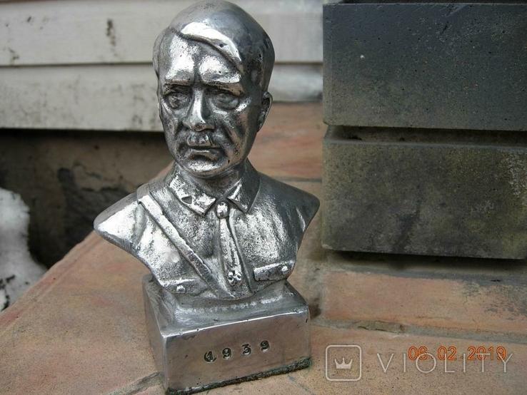 Бюст А.Гитлера., фото №3