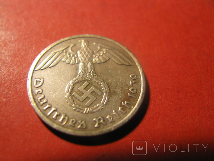 Німеччина  1 пфеніг 1939 ( А ), фото №2