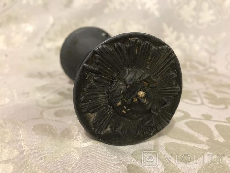 Дверная ручка времён ссср с ликом, фото №4