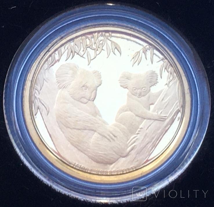 Австралія 15 доларів Коала 2011 рік Золото 3,11 грам 999,9' проби, фото №3
