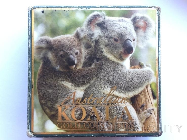 Австралія 15 доларів Коала 2011 рік Золото 3,11 грам 999,9' проби, фото №5