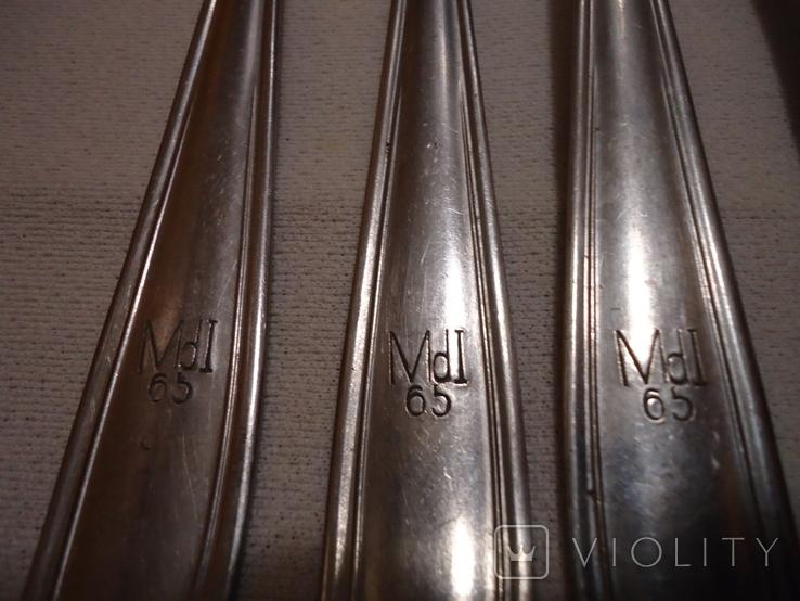 Столовые приборы, маркировка MdI 64, Mdl 65, Mdl 66, Германия, фото №4