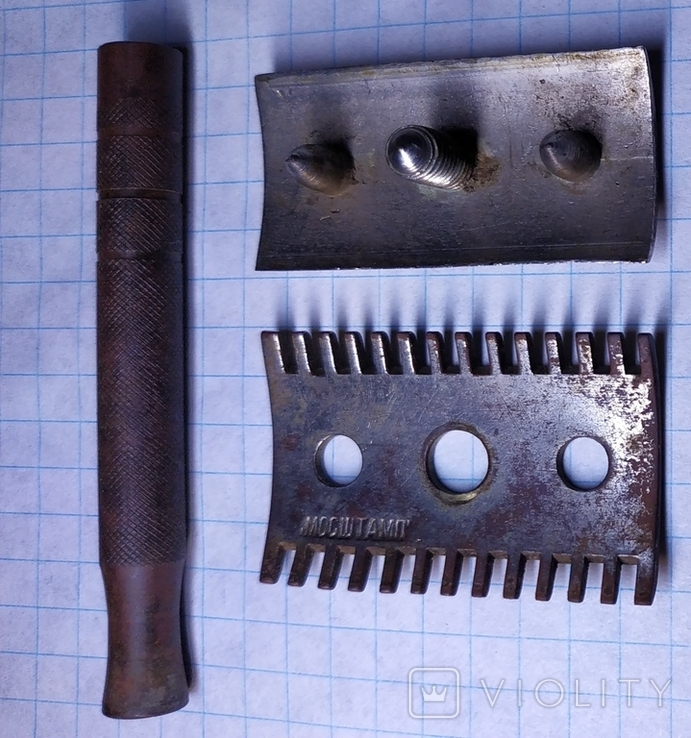 Бритвенный станок Мосштамп 1932-33г , бонус., фото №8