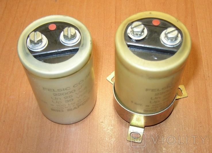 Конденсаторы 22000 мкФ 2 шт., фото №2