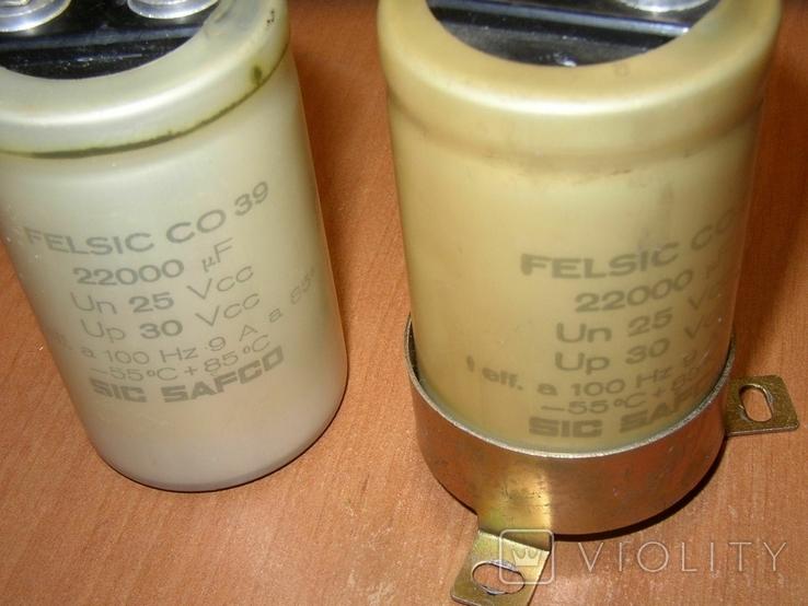 Конденсаторы 22000 мкФ 2 шт., фото №3