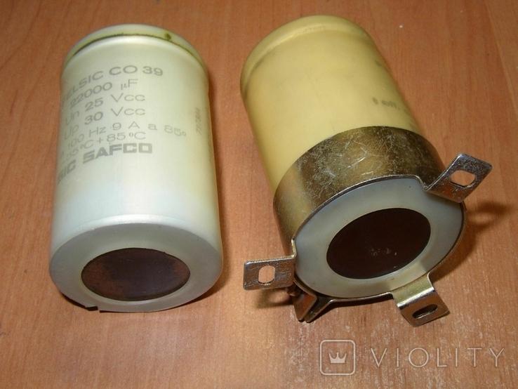 Конденсаторы 22000 мкФ 2 шт., фото №4