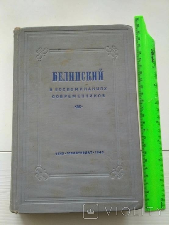 Белинский в воспоминаниях современников, фото №2