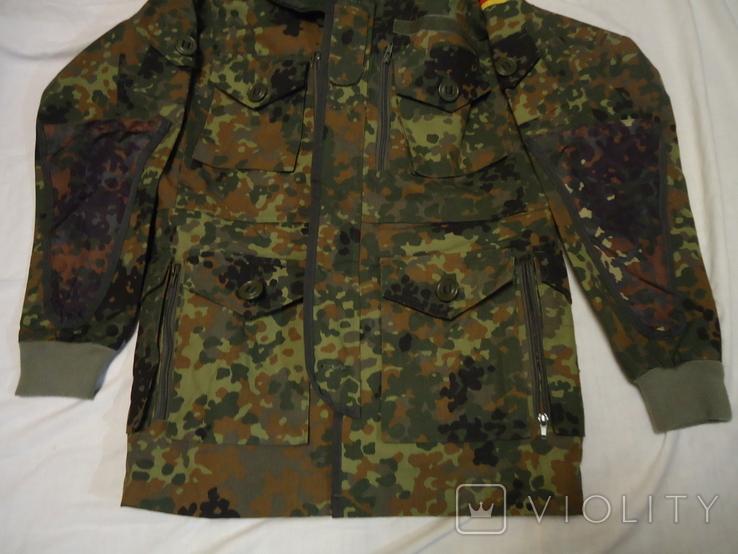 Куртка - парка  MIL-TEC BW SMOCK FLECKTARN, фото №4