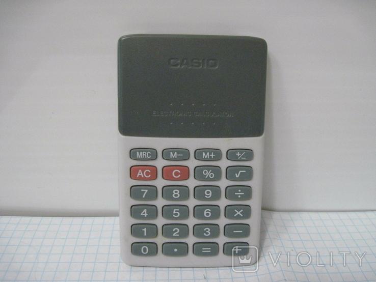 Электронный калькулятор Casio SL-150, фото №3