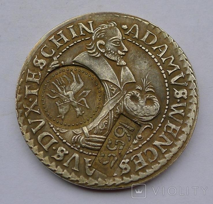 Монета №9. Копия. Звенит. Не магнитится., фото №2