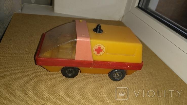 Машинка Скорая помощь СССР, фото №2