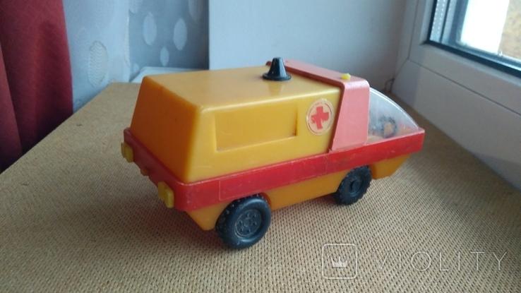 Машинка Скорая помощь СССР, фото №4