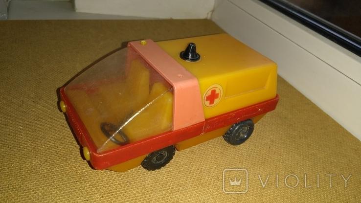 Машинка Скорая помощь СССР, фото №7