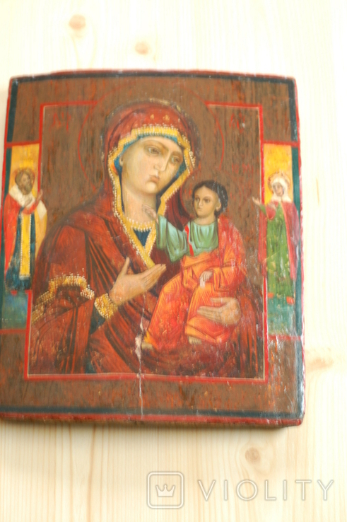 Икона Богородицы Иверская, фото №3