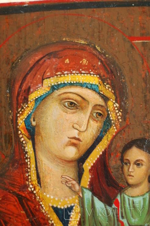 Икона Богородицы Иверская, фото №7