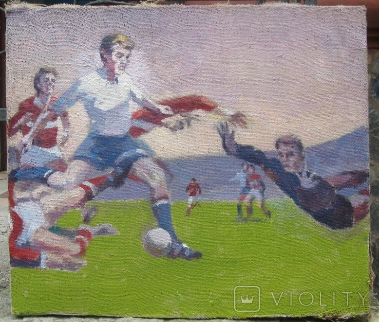Картина Футбол. Копия., фото №2