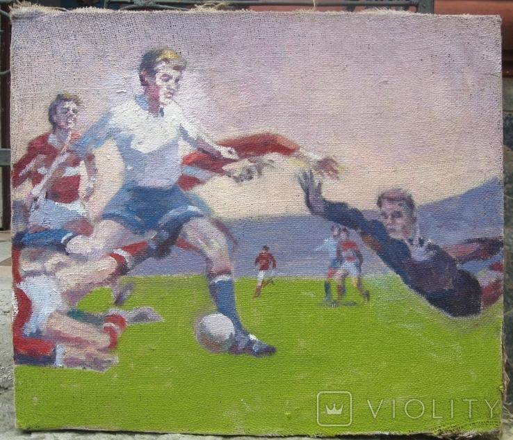 Картина Футбол. Копия., фото №5