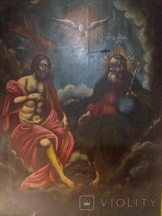 """Ікона """"Свята Трійця"""", фото №2"""