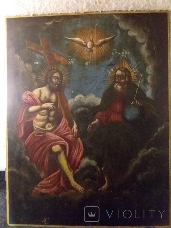"""Ікона """"Свята Трійця"""", фото №3"""