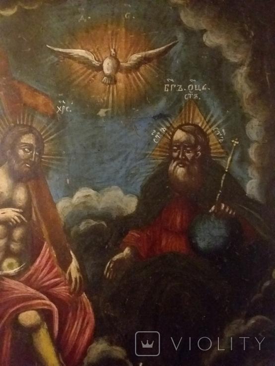 """Ікона """"Свята Трійця"""", фото №4"""