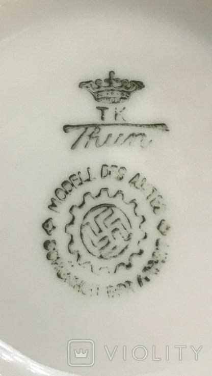 Кофейная чашка DAF. Третий Рейх, свастика., фото №9