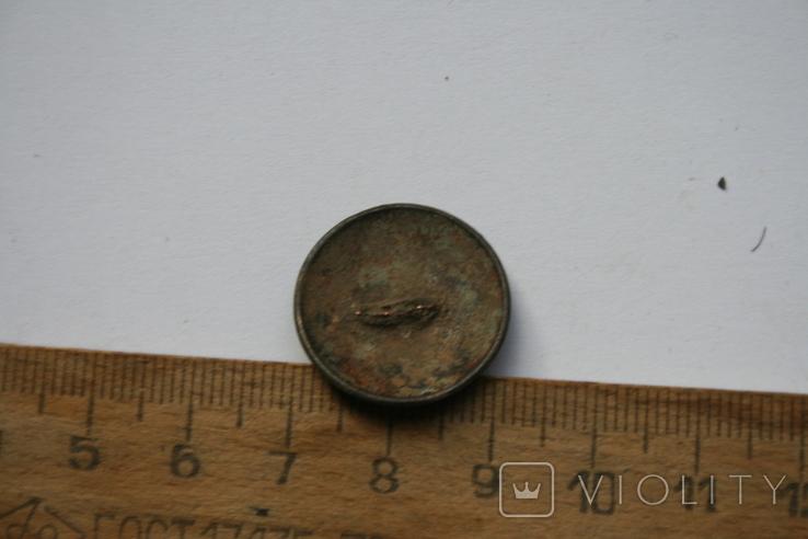 Пуговица номерная номер 15, фото №3
