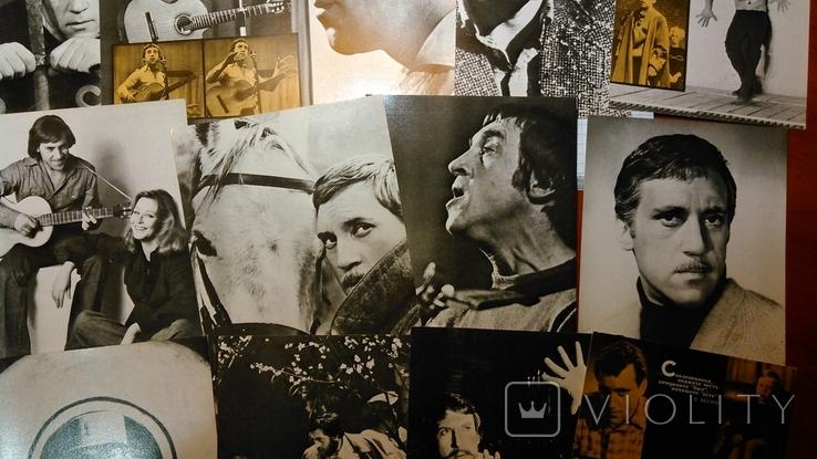 Владимир Высоцкий. Комплект из 18 чёрно-белых открыток. 1988год., фото №6