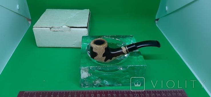 Пепельница для трубок с трубкой, фото №2