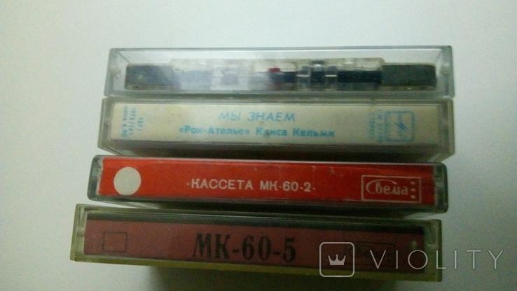 Аудиокассеты Мk-60 Сr O2,Mk-60.2, Mk-60.5,Рок-Ателье - лицензия, фото №12