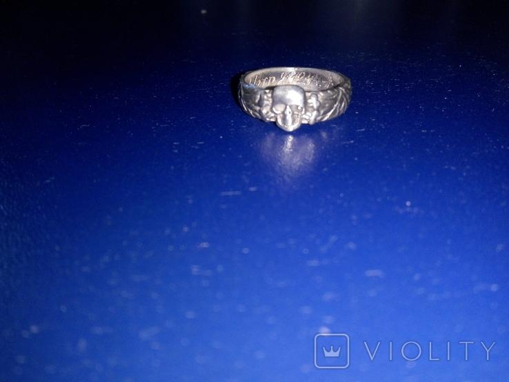 Кольцо сс серебро копия, фото №2