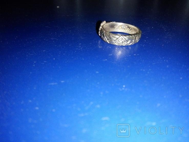 Кольцо сс серебро копия, фото №3