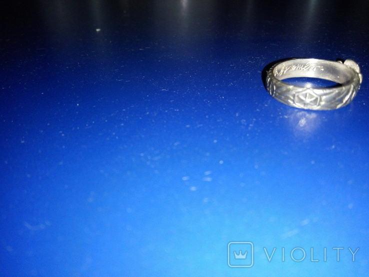Кольцо сс серебро копия, фото №5