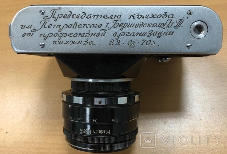 Фотоаппарат Зенит B, с объективом Гелиос 44-2, фото №6