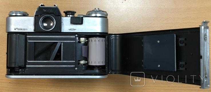 Фотоаппарат Зенит B, с объективом Гелиос 44-2, фото №7