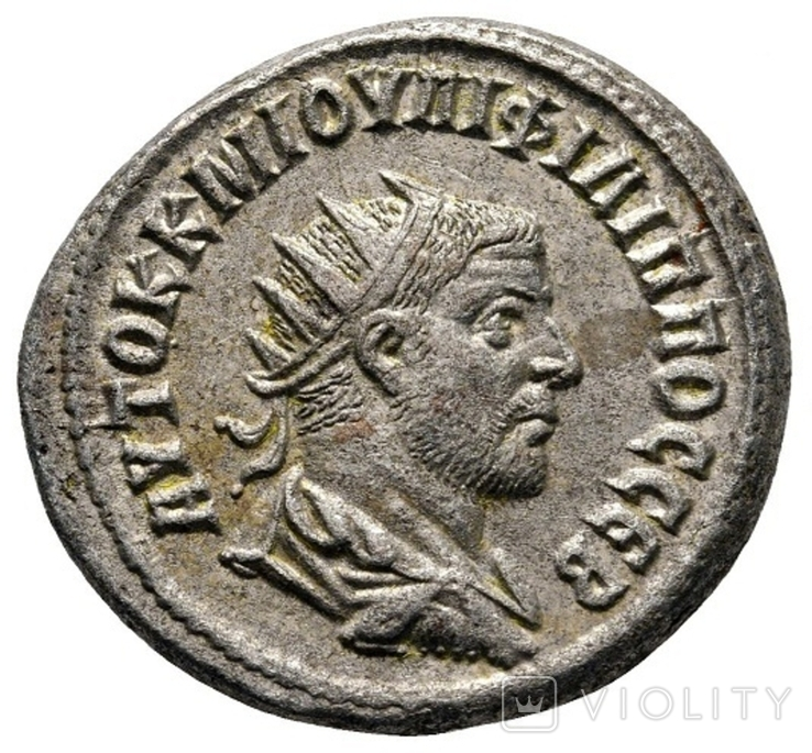 Тетрадрахма Філіппа І Араба (244-249 рр.)