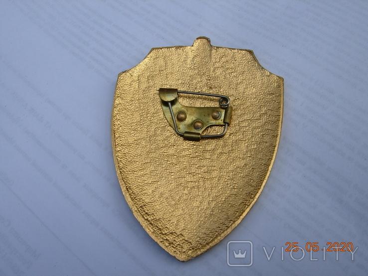 Бляха начальник караула Внутренних войск СССР .копия., фото №3